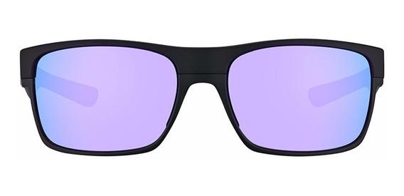Oakley Two Face Matte Black - Violet Iridium Oo9189-08