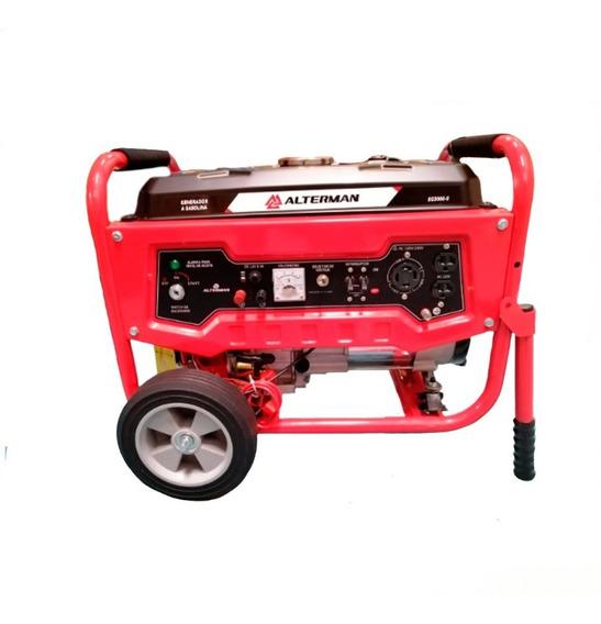 Generador A Gasolina 3,3 Kw 120/240 Voltios Alterman