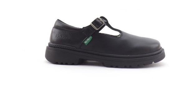 Zapatos Guillermina Kickers Kilah Cuero Nena Colegial 34-40