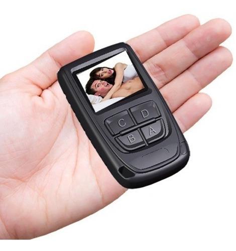 Imagen 1 de 10 de Camara Espia Llavero Control Alarma Pantalla 1.5 Fullhd 1080p 128gb Max Foto Y Video Con Audio De Gogo Electronics