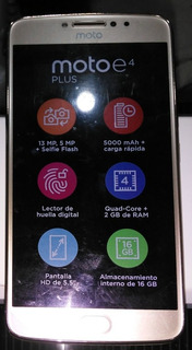 Celular Motorola E4 Plus 16gb
