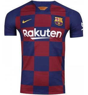 Camisa Barcelona Uni. I 2019/20 - Original - Frete Grátis - Envio Imediato