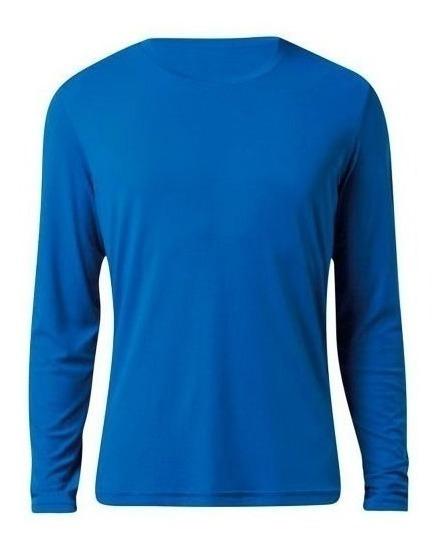 Camiseta Proteção Solar Ice Tecido Gelado Uv Segunda Pele