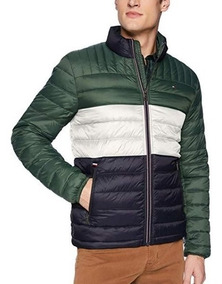 Chamarra Tommy Hilfiger Tipo Pluma Ganzo Termicas Colores