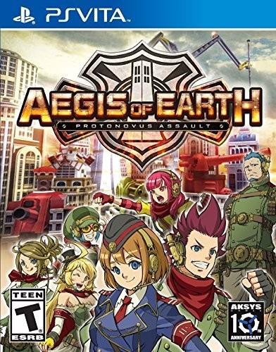 Aegis Of Earth Protonovus Assault - Ps Vita