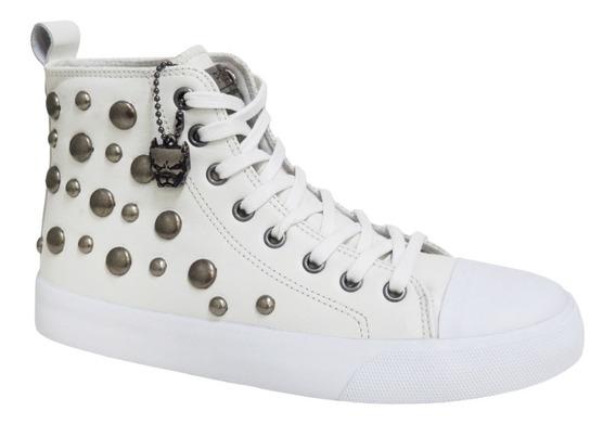 Tênis Feminino Pit Bull Pitbull Pitbul Jeans 92005 Branco