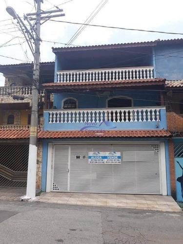 Sobrado Com 3 Dormitórios À Venda, 300 M² Por R$ 530.000,00 - Parque Savoi City - São Paulo/sp - So0107