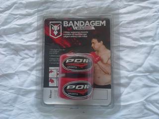 Bandagem Elástica Mantis Vermelha 20 Mm Cod 407