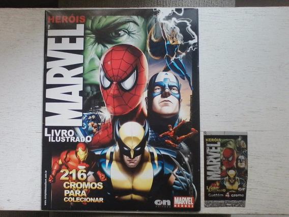 Marvel Heróis Livro Ilustrado