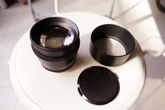 Rokinon Cine 85mm T1.5 P/ Nikon