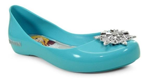 Sapatilha Disney Frozen Shine Azul Prata - 21370