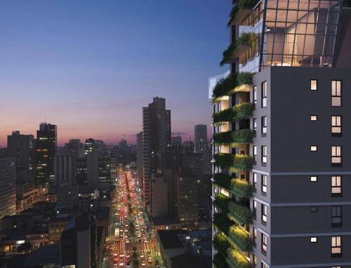 Apartamento Com 3 Dormitórios À Venda, 107 M² Por R$ 1.052.500,00 - Centro - Curitiba/pr - Ap3476