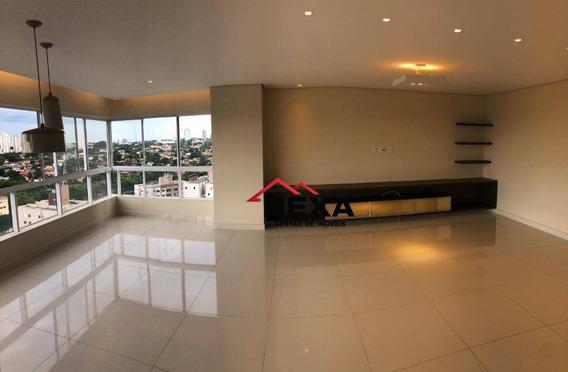 Apartamento Com 3 Dormitórios À Venda, 179 M² Por R$ 1.250.000 - Setor Marista - Goiânia/go - Ap0413