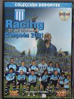 Dvd Racing Campeon 2001 Coleccion Deportes