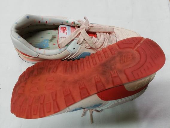 Zapatillas New Balance Wl574 T40 Dama Urbanas Argp00472 Org