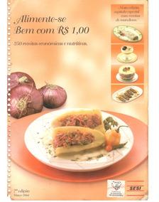 Livro Virtual Receitas Do Sesi Alimente Se Bem Com R$ 1,00