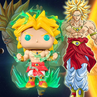 Funko Pop Chase, Broly Glow In The Dark, Dragon Ball