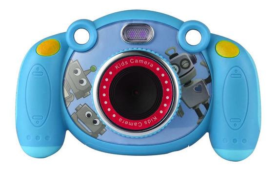 Mini Camera Fotográfica Fhd Infantil Tomate Mt-1095