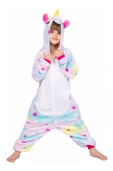 Pijama Unicornio Kigurumi Nenas Estrellas