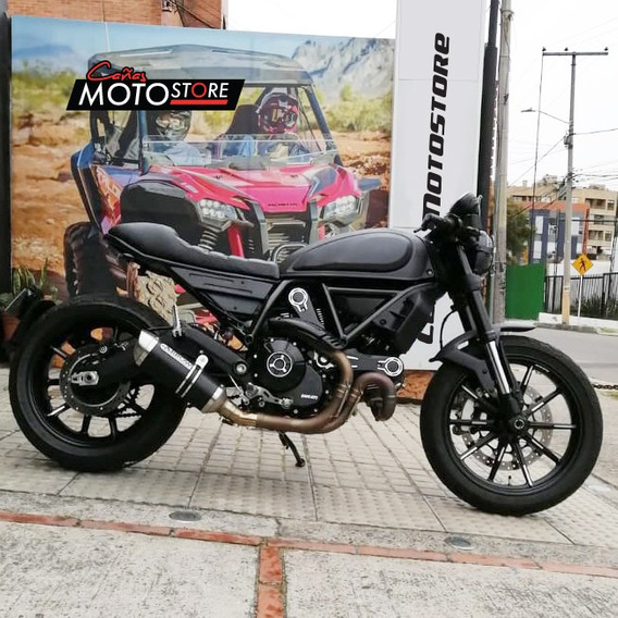 Ducati Scrambler 800 Cafe Racer Gris 2019