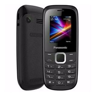Celular Panasonic Gd18 2 Chips Fm Mp3 Camera Para Idosos