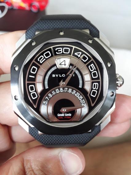 Relógio Bvlgari Octo Bi-retro Gerald Genta Cal 7722