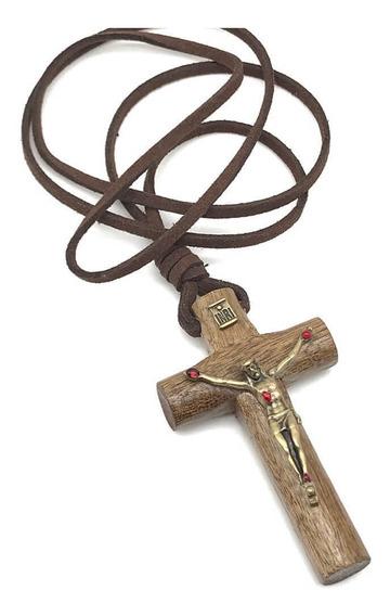 Crucifixo De Pescoço Colar Com As Chagas De Cristo Ov