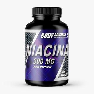 Niacina Vitamina B3 Body Advance 60comp