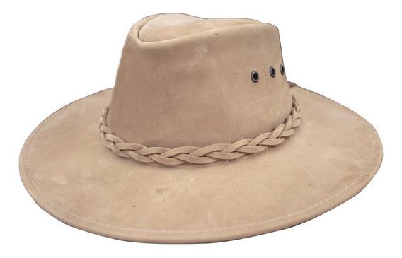 Sombrero De Piel Indiana Unisex (cartera De Regalo)