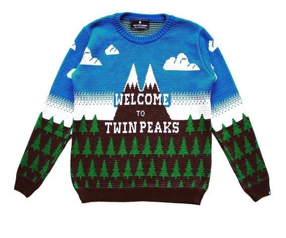 Twin Peaks - Sweater Hombre Y Mujer De This Is Feliz Navidad