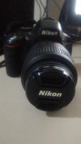 Câmera Dslr Nikon D5100 Usada Em Bom Estado