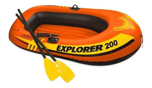 Bote Explorer 200 Com Acessórios - Intex
