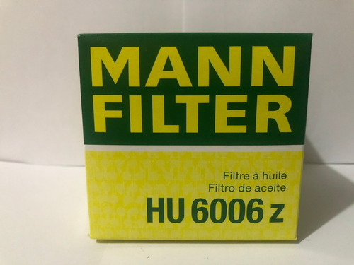 Filtro Aceite Hu 6006z  (mann Filter)