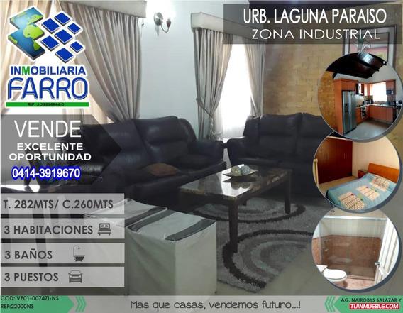 Venta De Casa En La Zona Industrial Ve01-0074zi-ns