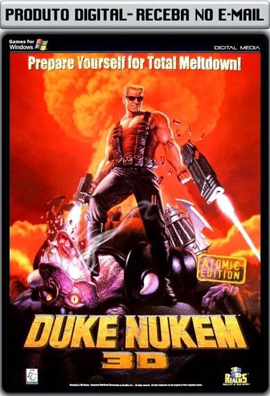 Duke Nukem 3c Atomic Edition - Pc - Envio Digital