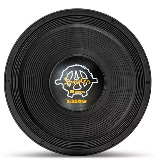 Alto Falante Woofer Kaos Bass Spyder 18 1350w Rms 4 Ohms