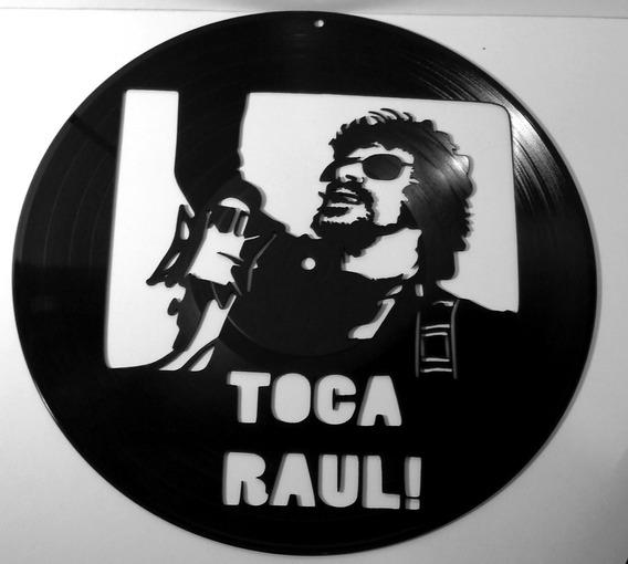 Arte Vinil Raul Seixas Toca Raul - Decoração