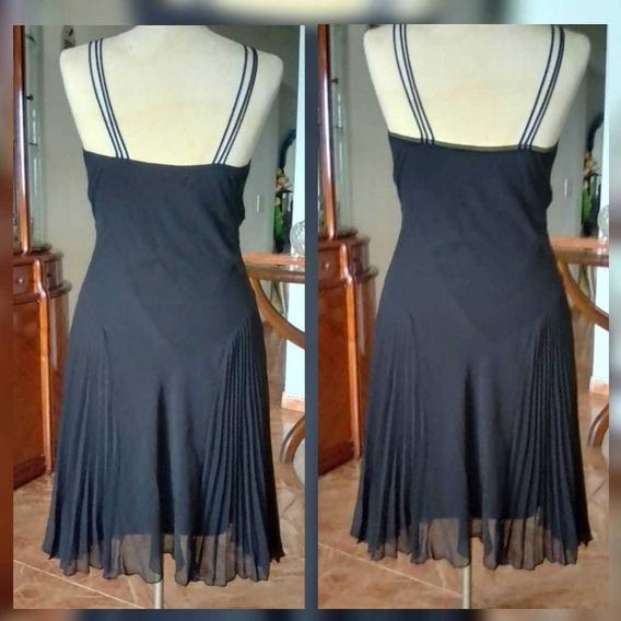 Vestido Negro Tipo Coctel Talla L