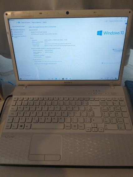 Notebook Sony Vaio Modelo Pcg71911x