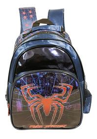 Mochila Escolar Infantil Menino Spider Aranha Resistente