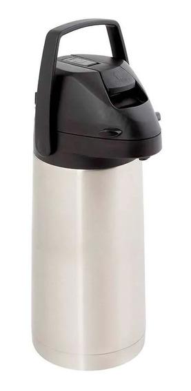 Garrafa Térmica Airpot Inox Com Alavanca 1,9 Litros Mor
