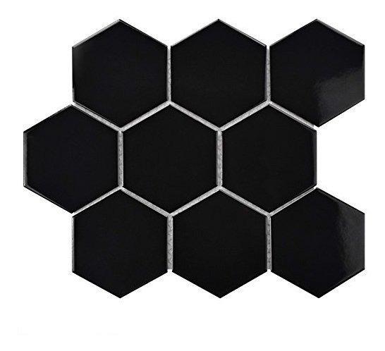 Somertile Fwrm4hgb Retro Super Hexagonal Suelo De Mosaico De
