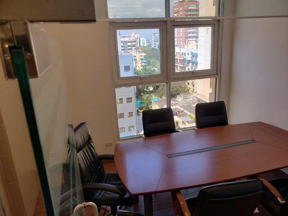 Oficina Amueblada En Torre Profesional En Piantini