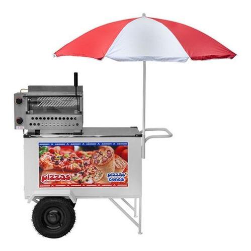 Imagem 1 de 5 de Carrinho De Pizza Cone Standard 2 Rodas Cpcl018 Armon