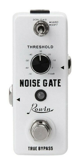 Pedal Rowin Noise Gate Suppressor Guitarra Baixo