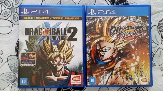 Dragonball Fighter Z + Dragonball Xenoverse 2 Ps4