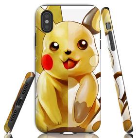 26c4ba2ab46 Funda iPhone Pokemon Pikachu Xsmax Xr Xs 8 7 6 Se Uso Rudo