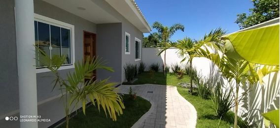 Casa Itaipuaçu, 2 Quartos, Churrasqueira Em Condomínio - 531