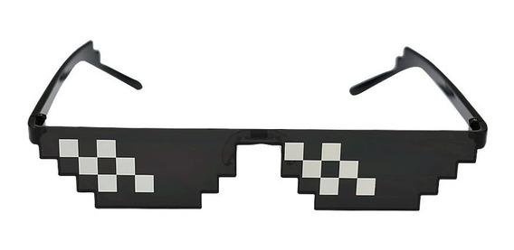 Óculos De Sol Meme Thug Life Sou Foda 8 Bit Divertido Top
