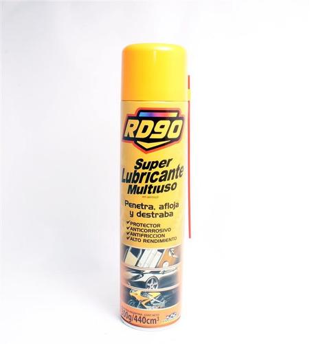 Lubricante Multiuso Rd90 Limpia Penetra Afloja Protege 300g